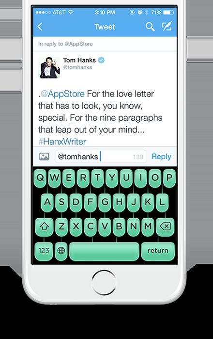 Tom Hanks Typewriter - Typewriter App | Hanx Writer